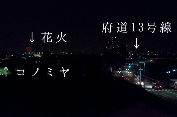 淀川花火-位置図