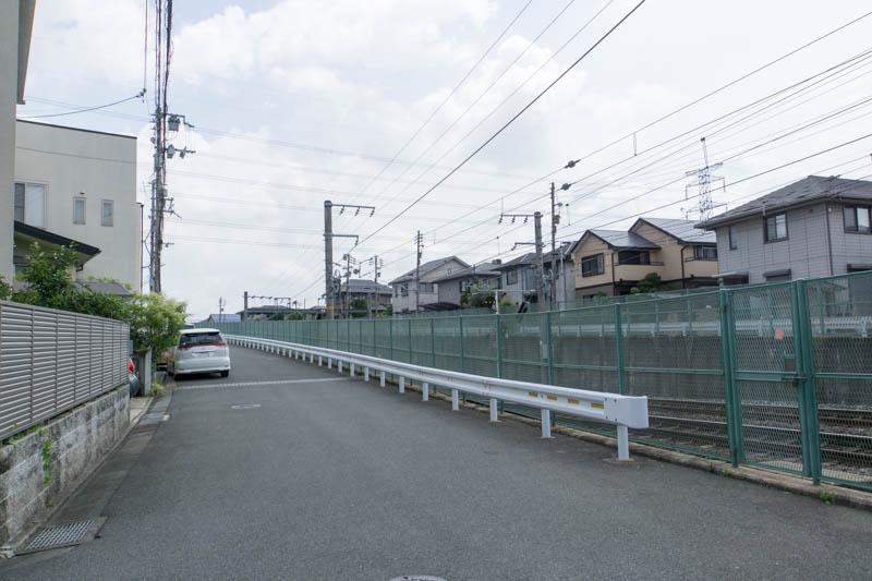 NTT西日本のCM「勇気の大きさ篇」に松井山手がうつってる