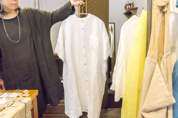 リネンロングシャツ-1704061