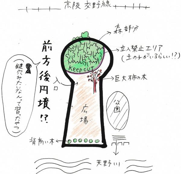 20161218前方後円墳