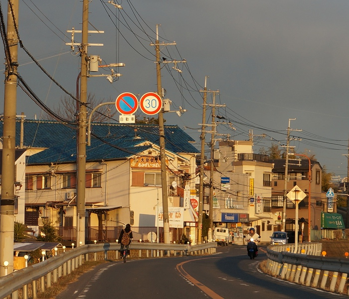 村野駅から出鼻橋への道【ただの枚方】