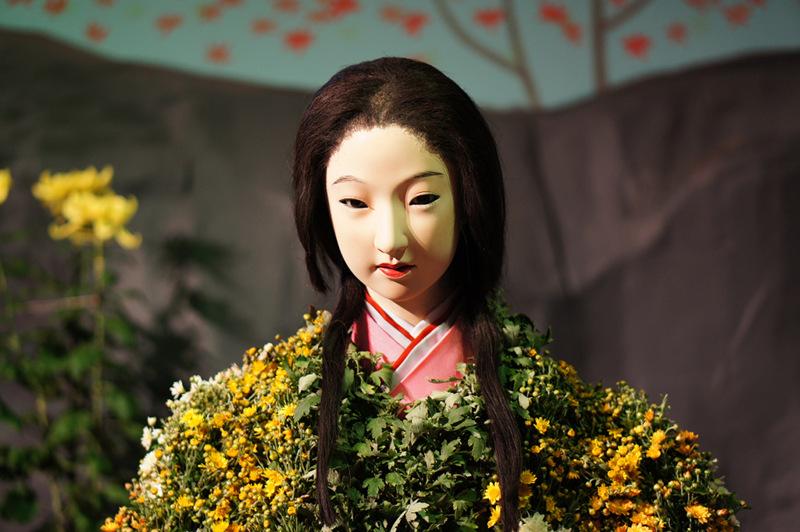 121005菊人形「平清盛」