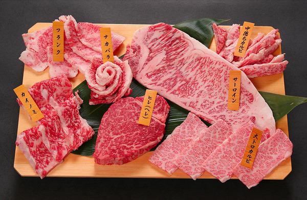 焼肉7種盛り