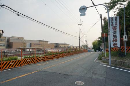 枚方茨木線歩道設置工事130815-02