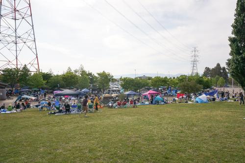 山田池公園バーベキュー-10