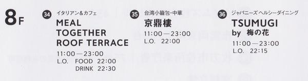 枚方T-SITE8階フロアガイド