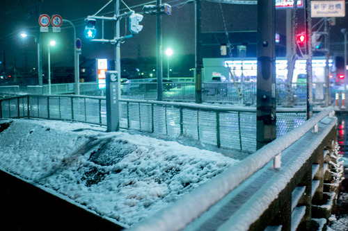 雪の正月-9