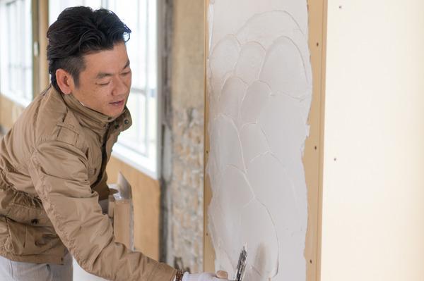 ひらばDIY漆喰塗り体験-22