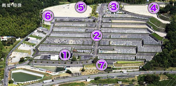 紫峰霊苑マップ