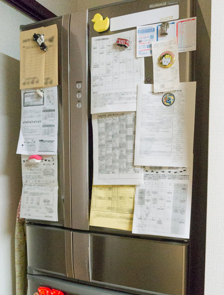 冷蔵庫プリント