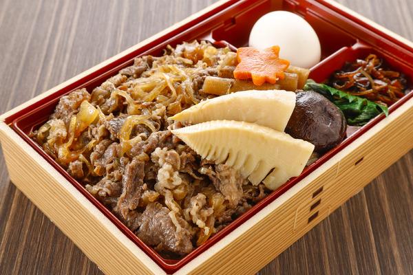 2・松坂牛すき焼き弁当-1