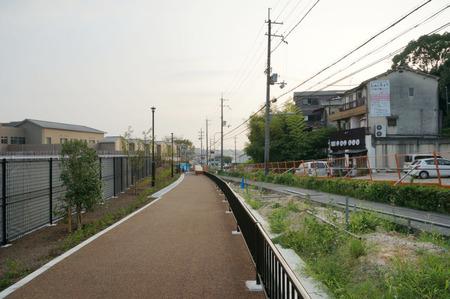 枚方茨木線歩道設置工事130815-32