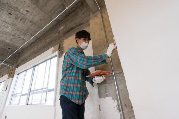 ひらばDIY漆喰塗り体験-55