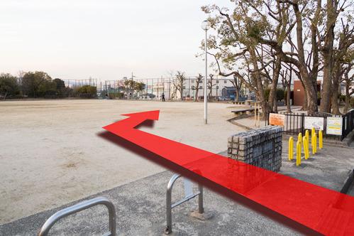 公園駐輪場2