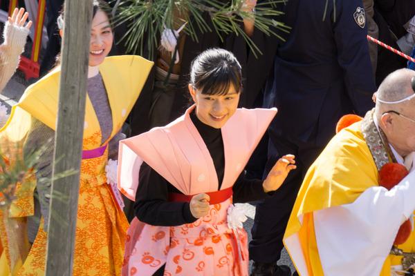 成田山不動尊 節分祭-17