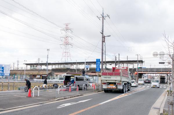 20180125チャリピ藤阪駅前-2