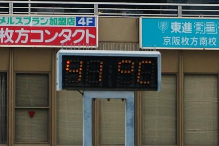 枚方市駅の気温130811-05