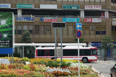 枚方市駅の気温130811-01