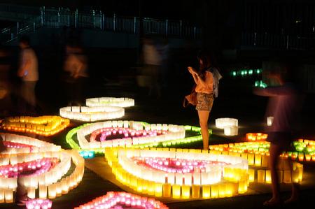七夕キャンドルの夕べ130707-12