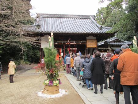 交野天神社140101