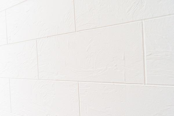 漆喰の壁小