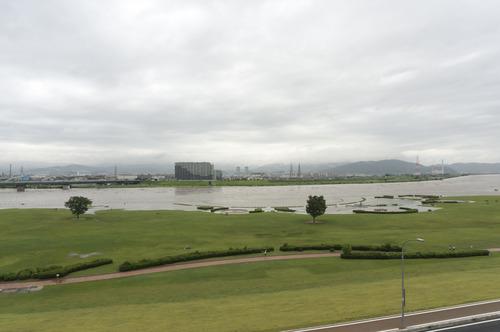 台風11号・淀川-16