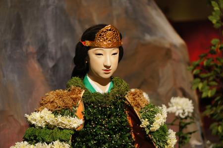 121005菊人形「平清盛」121