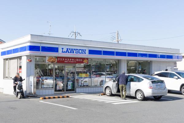 ローソン男山長沢店