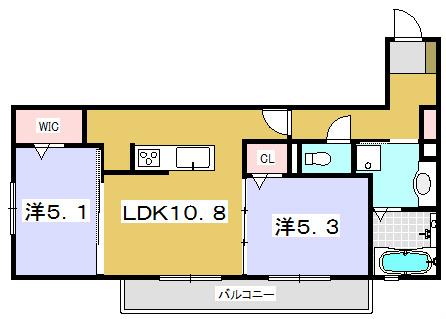 クレール田宮1