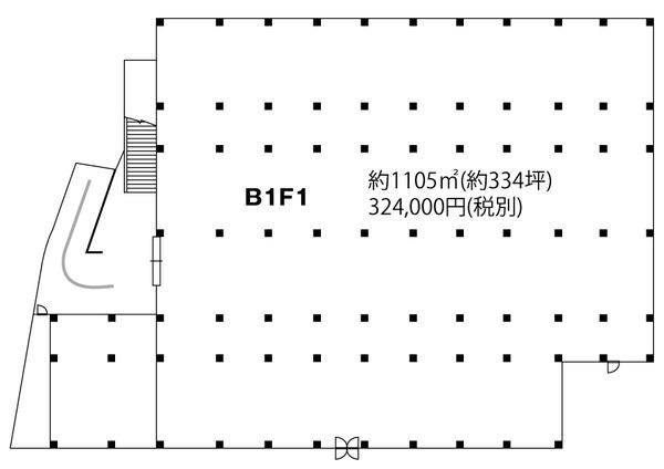 地下スーパー跡BF1