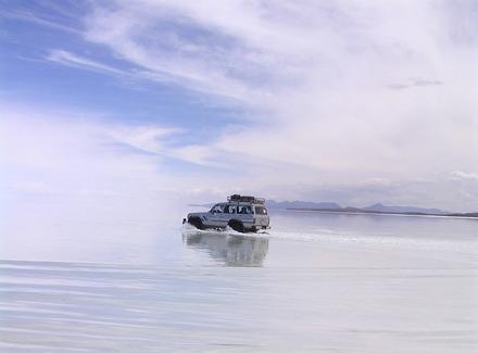 ボリビア(ウユニ塩湖)