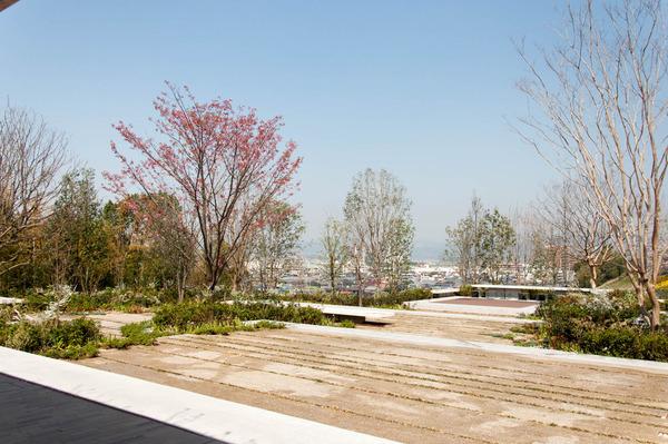 関西外大中庭-18032919