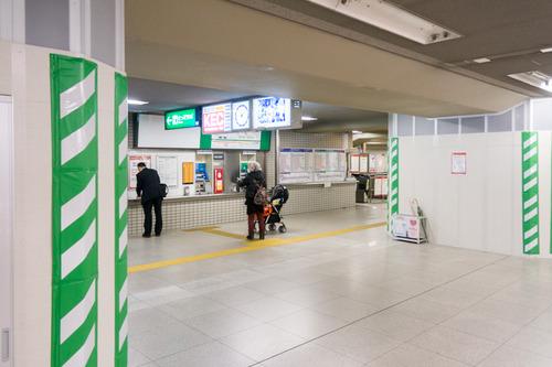 枚方市駅東改札口-14112012