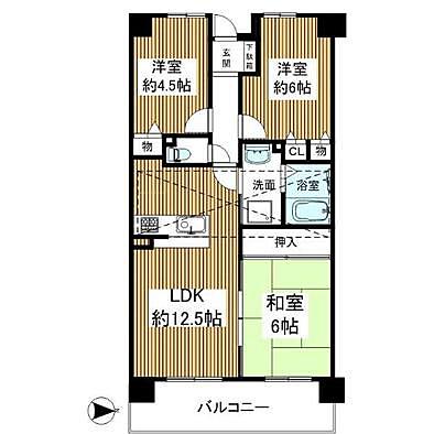 メロディーハイム枚方B棟 714室中古マンション-2
