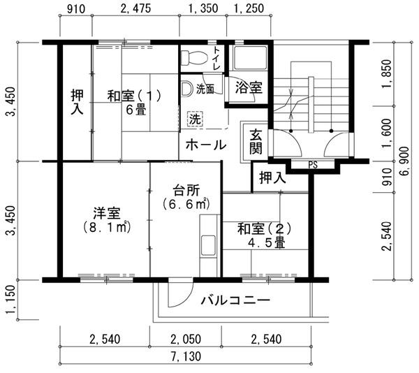 UR寝屋川団地502