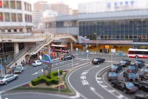 枚方市駅ミニチュア