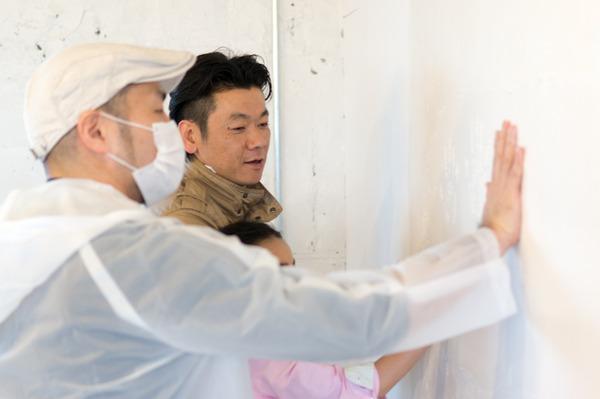 ひらばDIY漆喰塗り体験-65