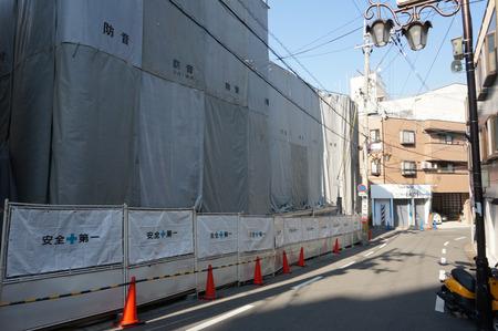 京阪ザ・ストア牧野店解体131105-58