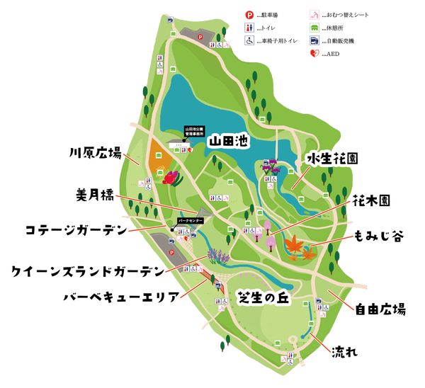 山田池map2