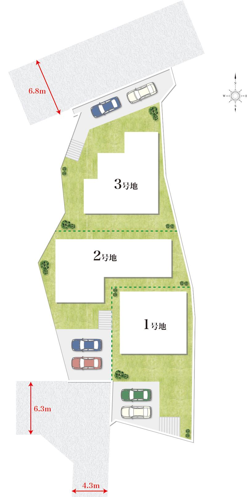 エクセランド菊丘区画図