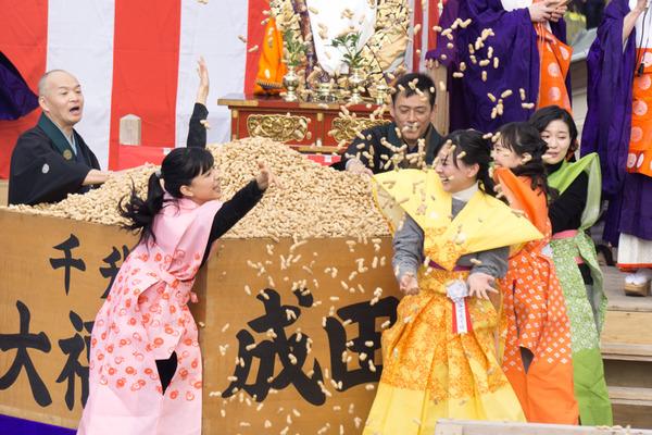 成田山不動尊 節分祭-40
