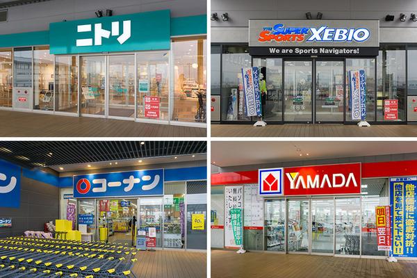 ニトリ新生活4店舗