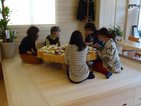 クッキング教室後の試食会