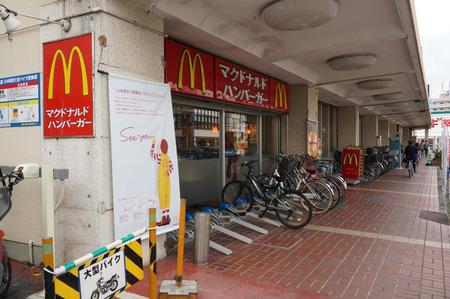 マクドナルド枚方イズミヤ店131026-01