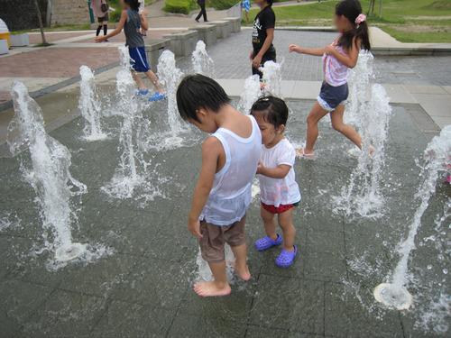 車塚公園噴水-1