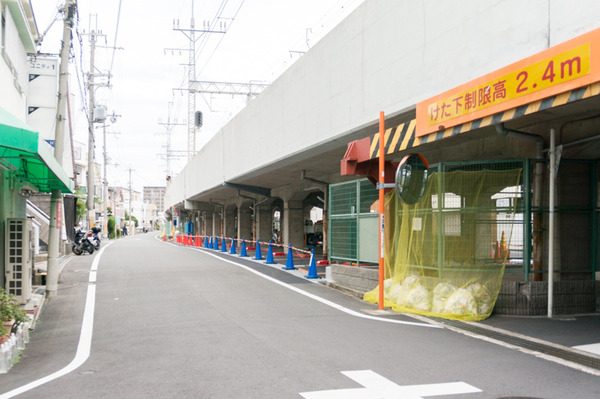 20170911牧野駅高架下