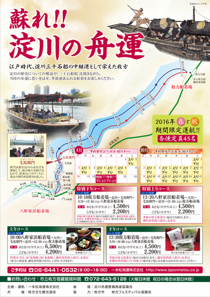 蘇れ!淀川の舟運