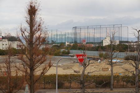 大阪工業大学野球場140102-05