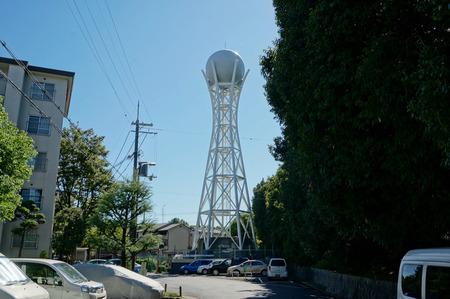藤阪ハイツ給水塔130927-01