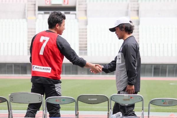 白川選手・山本監督39